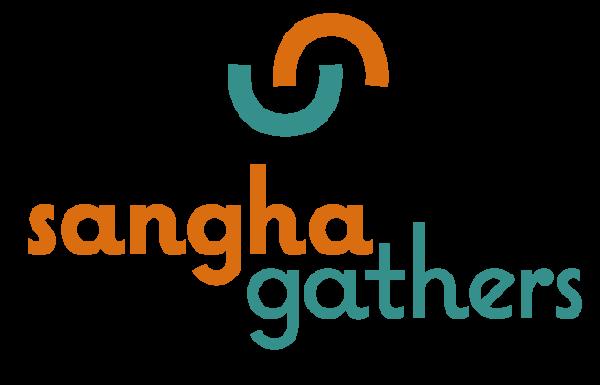 Sangha Logo Gathers with Icon