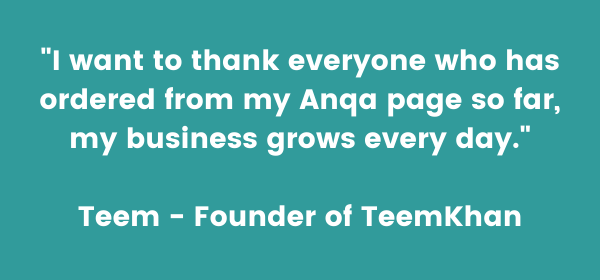 My first order from Anqa gave me such a confidence boost! Maria - Founder of Maria Callisto (3)